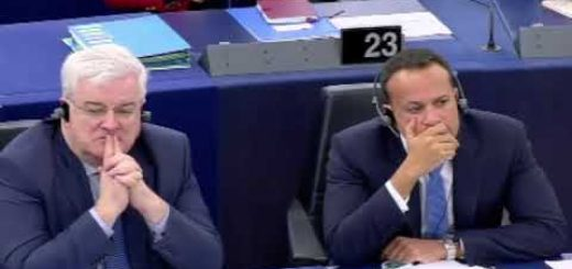 Discussione sul futuro dell'Europa con Leo Varadkar, Taoiseach primo ministro dell'Irlanda