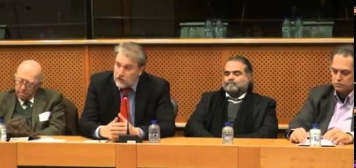 Ομιλία του Νότη Μαριά στην εκδήλωση για τις Γερμανικές αποζημιώσεις στο Ευρωπαϊκό Κοινοβούλιο