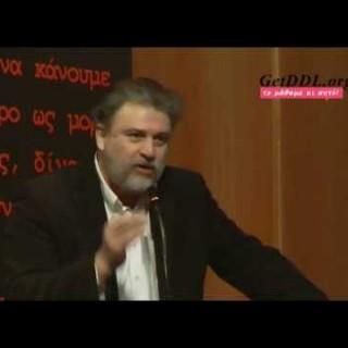 Ομιλία Νότη Μαριά στους κατοίκους της Θέρμης σχετικά με τα χαράτσια και το σφετερισμό εξουσίας