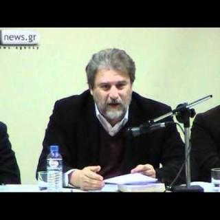 Βίντεο από την ομιλία του Ν. Μαριά στο Περιστέρι