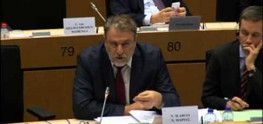 Νότης Μαριάς στην Ευρωβουλή: Συνεχίζεται η ασύστολη κερδοσκοπία της Ευρωπαϊκής Κεντρικής Τράπεζας σε βάρος των λαών της ευρωπαϊκής περιφέρειας.