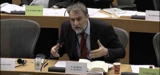 Και νέα σύγκρουση του Νότη Μαριά στην Ευρωβουλή με την Κομισιόν για PSI και ασφαλιστικό στην Ελλάδα.