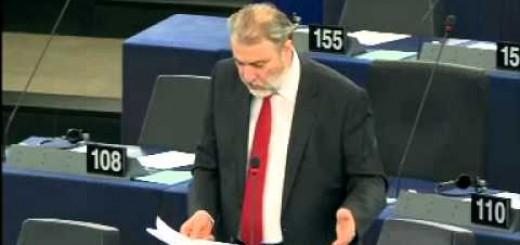 Νότης Μαριάς στην Ευρωβουλή: Να χτυπήσουμε την εγκληματική δράση που γίνεται μέσα από το διαδίκτυο.