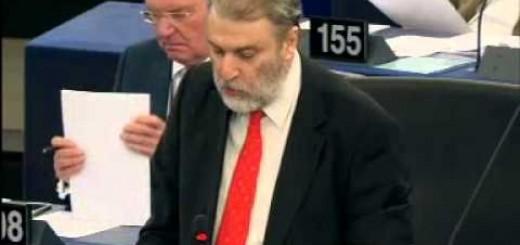 Παρέμβαση του Νότη Μαριά  στην Ευρωβουλή για τους αγνοούμενους της Κύπρου