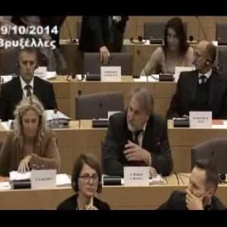 Νότης Μαριάς: Η διεκδίκηση των Γερμανικών Αποζημιώσεων από την Ελληνική Βουλή στην Ευρωβουλή.