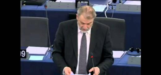 Νότης Μαριάς στην Ευρωβουλή: Η μερκελική λιτότητα παραβιάζει μαζικά τα Ανθρώπινα Δικαιώματα.