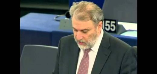 Νότης Μαριάς στην Ευρωβουλή: Να χτυπηθεί άμεσα το λαθρεμπόριο καυσίμων και τσιγάρων.