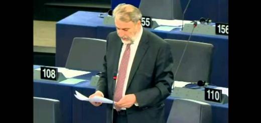 Ο Νότης Μαριάς στην Ευρωβουλή για Κόσοβο και τζιχαντιστές.