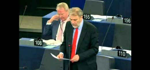 Νότης Μαριάς στην Ευρωβουλή: Το Ευρωπαϊκό Εξάμηνο περιορίζει την εθνική κυριαρχία των κρατών της Ευρωζώνης.