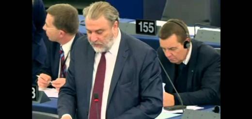 Νότης Μαριάς στην Ευρωβουλή: Καταψηφίζω τον παλιό πολιτικό κόσμο της Ευρώπης-τον Γιούνκερ και την παρέα του.
