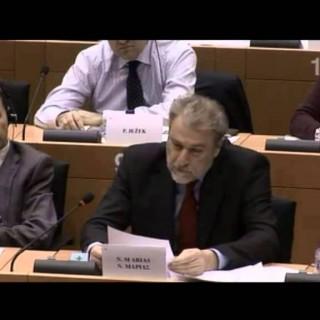 Μαριάς σε Γκουρία: Αποφασίστε εάν στηρίζετε τον Ελληνικό λαό ή την τρόικα.