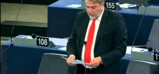 Νότης Μαριάς στην Ευρωβουλή: Κούρεμα των τοκογλυφικών ομολόγων της ΕΚΤ εδώ και τώρα.