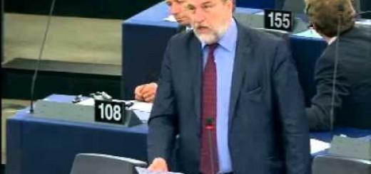 Ο Νότης Μαριάς καταγγέλλει στην Ευρωβουλή την κερδοσκοπία της Ευρωπαϊκής Κεντρικής Τράπεζας σε βάρος του ελληνικού λαού