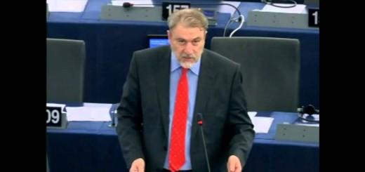Παρέμβαση του Νότη Μαριά στην Ευρωβουλή υπέρ των τυφλών.