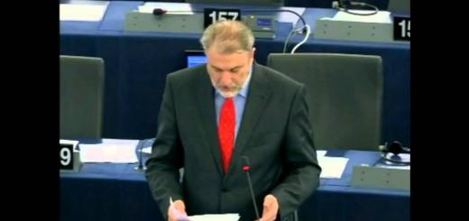 Παρέμβαση του Νότη Μαριά στην Ευρωβουλή για διαγραφή του χρέους