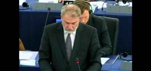 Ο Νότης Μαριάς στην Ευρωβουλή για τη ρύθμιση των αδειών μητρότητας.