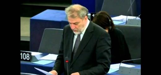 Ο Νότης Μαριάς στην Ευρωβουλή για την προστασία των δικαιωμάτων των ατόμων με αναπηρία.