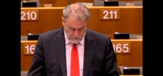 Ο Νότης Μαριάς φέρνει και πάλι τις γερμανικές αποζημιώσεις στην Ευρωβουλή.