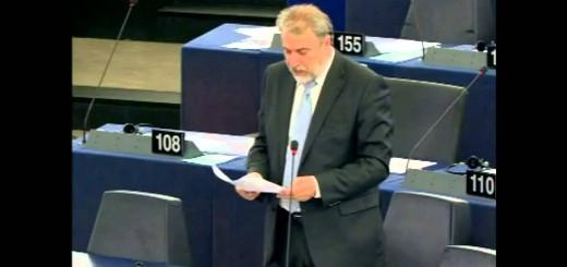 Νότης Μαριάς στην Ευρωβουλή: Αξιοποίηση των πλουτοπαραγωγικών πηγών της Ελλάδας χωρίς κηδεμονία από την τρόικα και τους δανειστές.