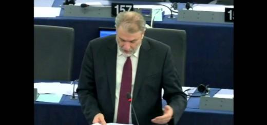 Νότης Μαριάς στην Ευρωβουλή: Ψίχουλα τα κονδύλια που δίνει η Ε.Ε. για την αντιμετώπιση της ανεργίας των νέων.