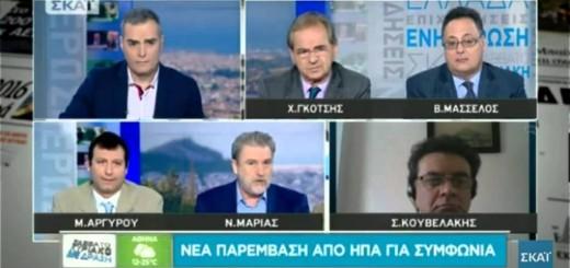 O Νότης Μαριάς στον ΣΚΑΙ για την πρόταση-λύση για εξόφληση του ΔΝΤ εκ μέρους της Ελλάδας μέσω χρηματοδότησης από την Τράπεζα της Ελλάδας.