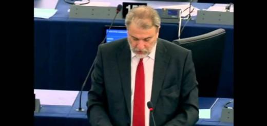 Ο Νότης Μαριάς στηρίζει τους Έλληνες κτηνοτρόφους στην Ευρωβουλή.
