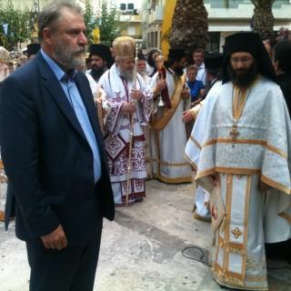 2015 κατάθεση στεφάνου Ηράκλειο Κρήτης 2