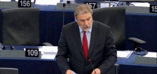 Νότης Μαριάς στην Ευρωβουλή: Δίκαιη κατανομή του παραγόμενου πλούτου εδώ και τώρα
