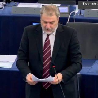 Νότης Μαριάς στην Ευρωβουλή: Η Αλβανία οφείλει Πολεμικές Αποζημιώσεις στην Ελλάδα λόγω τσάμηδων