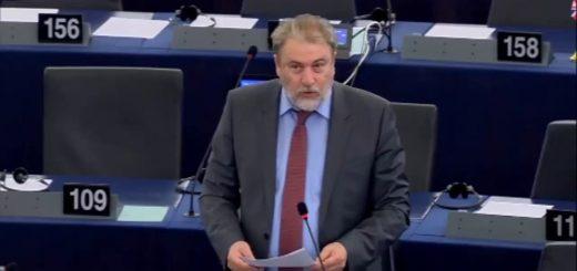 Νότης Μαριάς στην Ευρωβουλή: Η Ελλάδα δεν ανέχεται την υποκρισία των δήθεν εταίρων της στο προσφυγικό.
