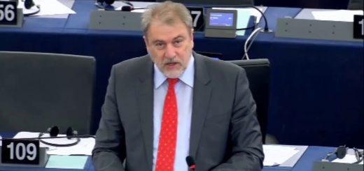 Νότης Μαριάς στην Ευρωβουλή: Εδώ και τώρα να κλείσουμε οριστικά την πόρτα της Ευρώπης στην Τουρκία και στον Ερντογάν.