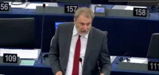 Ο Νότης Μαριάς καταγγέλλει στην Ευρωβουλή τις εμφανείς προκλήσεις της Τουρκίας αλλά και της Αλβανίας