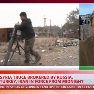 Ο Νότης Μαριάς στo Russia Today για την εκεχειρία στη Συρία