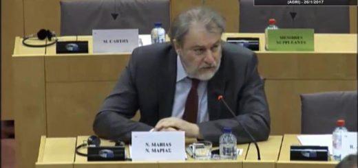 Νότης Μαριάς προς Μαλτέζικη Προεδρία: Εδώ και τώρα λήψη μέτρων προστασίας των Ελλήνων και άλλων Ευρωπαίων αγροτών