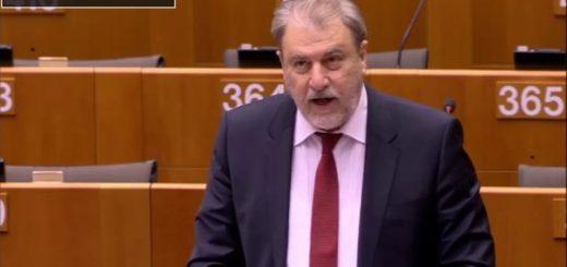 Ο Ν.Μαριάς στην Ευρωβουλή για την παραβίαση των ανθρωπίνων δικαιωμάτων σε Λ.Δ. Κονγκό & Γκαμπόν