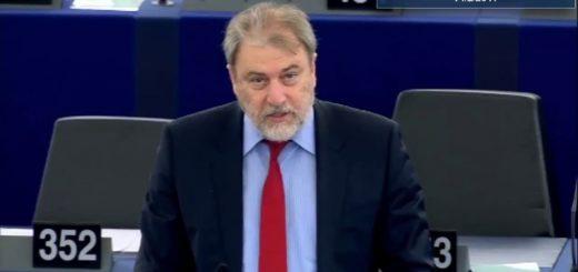 Παρέμβαση Νότη Μαριά στην Ευρωβουλή για την προστασία της Ελληνικής Μειονότητας της Μαριούπολης