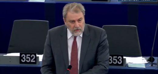 Ο Νότης Μαριάς στην Ευρωβουλή για την εξαίρεση χορήγησης βίζας