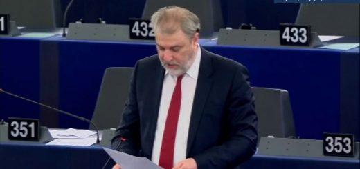 Παρέμβαση του Νότη Μαριά στην Ευρωβουλή για την ισότητα των φύλων