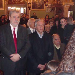 Κυριακή της Σταυροπροσκυνήσεως στην εκκλησία της Παναγίας της Χαριτωμένης στην Χώρα της Καλύμνου