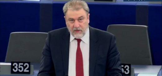 Ο Νότης Μαριάς καταγγέλλει στην Ευρωβουλή τον Ερντογάν και την παρέα του