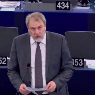 Ο Νότης Μαριάς καταψήφισε τη CETA στην Ολομέλεια της Ευρωβουλής
