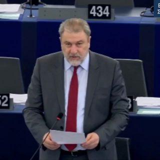 Νότης Μαριάς στην Ευρωβουλή: O Ελληνικός λαός δεν πρόκειται να δεχτεί τη μετατροπή της Ελλάδας σε ευρωπαϊκή αποικία