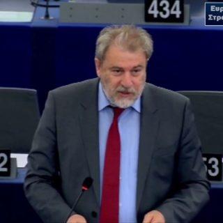 Νότης Μαριάς στην Ευρωβουλή: Να ληφθούν μέτρα για την προστασία του εισοδήματος των αλιέων