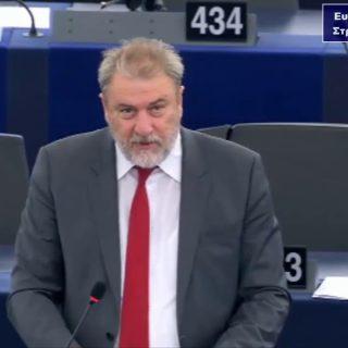 Νότης Μαριάς στην Ευρωβουλή: Κυρώσεις κατά της Τουρκίας και άμεση διακοπή των ενταξιακών διαπραγματεύσεων