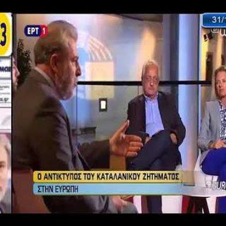 Ο Νότης Μαριάς  καταγγέλλει την Αλβανική αυθαιρεσία στη Βόρειο Ήπειρο