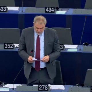 ΔΤ Νότης Μαριάς στην Ευρωβουλή Άμεση μείωση του ΦΠΑ στα νησιά του Αιγαίου